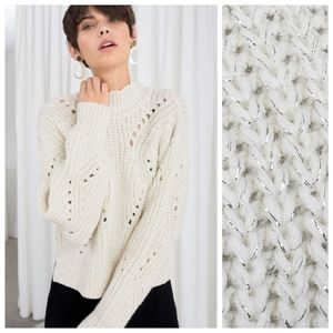 * NWT & Other Stories S SMALL Wool Knit Sweater